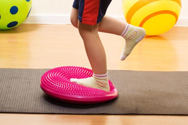 Verbesserung der Muskelkoordination in den Beinen